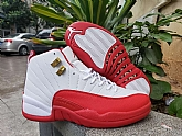 Air Jordan 12 FIBA White Red Glod 2019 Mens Retro Jordans 12s Shoes XY3,baseball caps,new era cap wholesale,wholesale hats